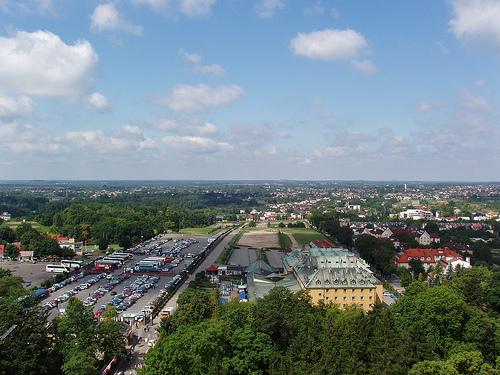 panorama Czestochowy